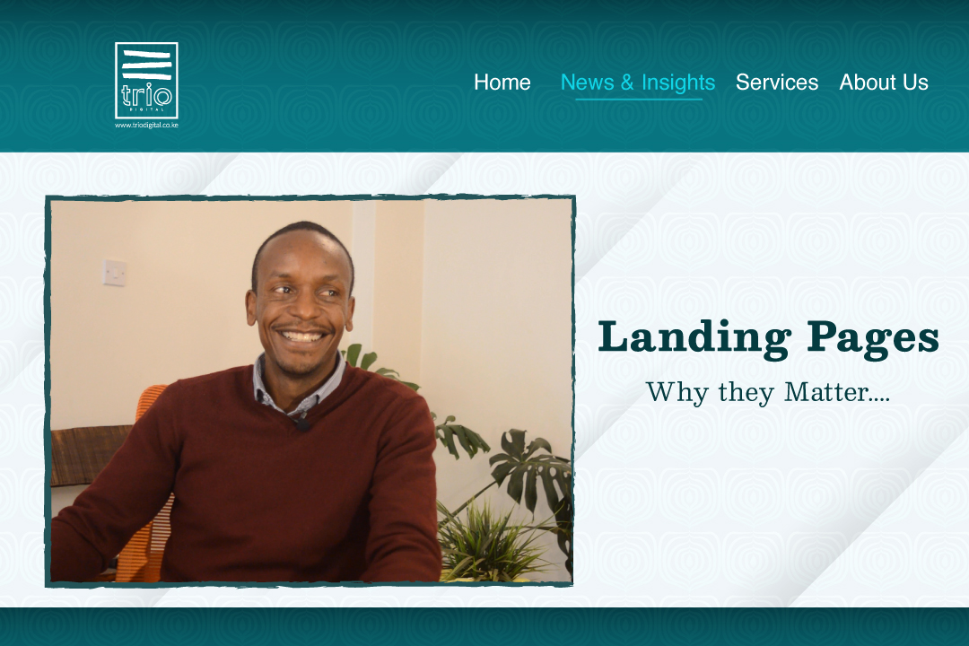 Landing Pages: Why They Matter